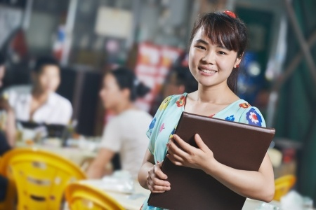 Catering Trade - Waitress in Cafe